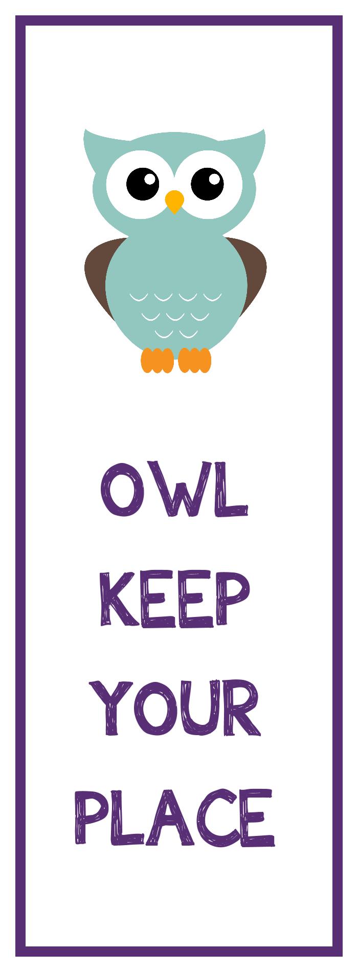 Owl Bookmark Printable   Library Stuff   Bookmarks Kids, Bookmarks - Free Printable Owl Bookmarks