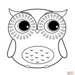 Owls Coloring Pages | Free Coloring Pages   Free Printable Owl Coloring Sheets