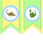 Party With Dinosaurs   Dinosaur Themed Birthday Party   Free Printable Dinosaur Labels