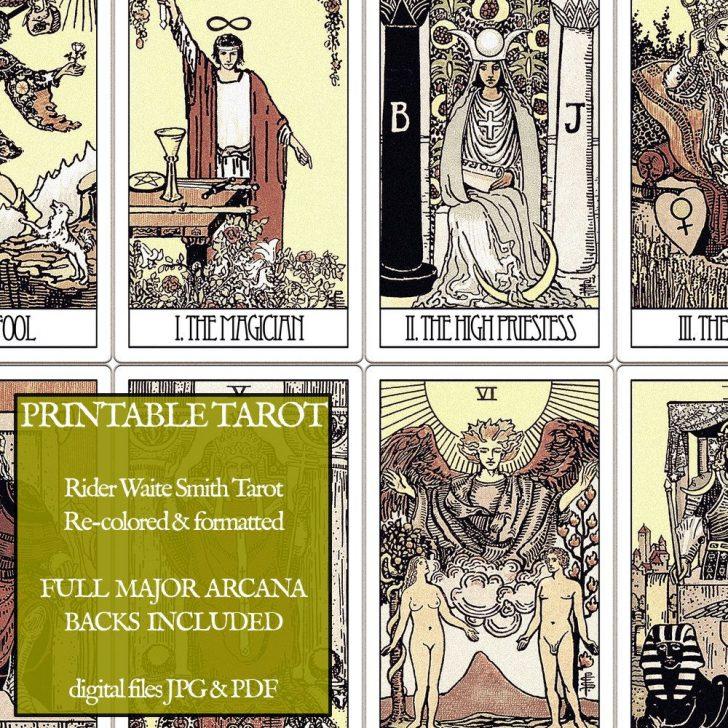 Printable Tarot Cards Pdf Free