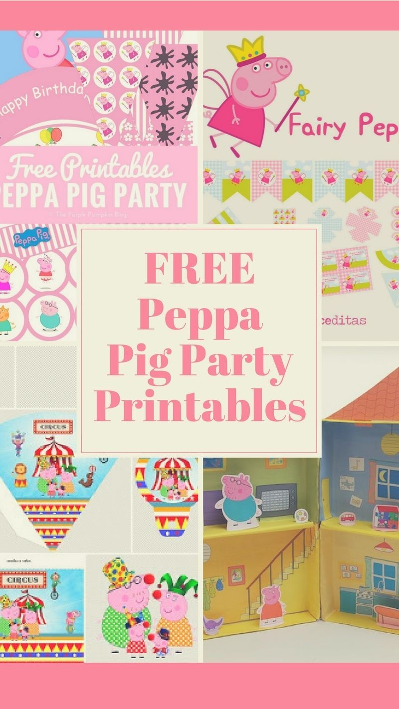 Peppa Pig Birthday Party Idea, Crafts And Free Printables.   Ms 2Nd - Peppa Pig Birthday Banner Printable Free