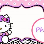 Personalized Hello Kitty Invitation Template | Hello Kitty | Hello   Free Printable Hello Kitty Pictures