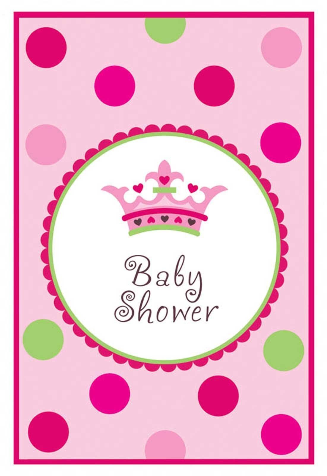 Photo : Princess Baby Shower Invitations Image - Free Printable Princess Baby Shower Invitations
