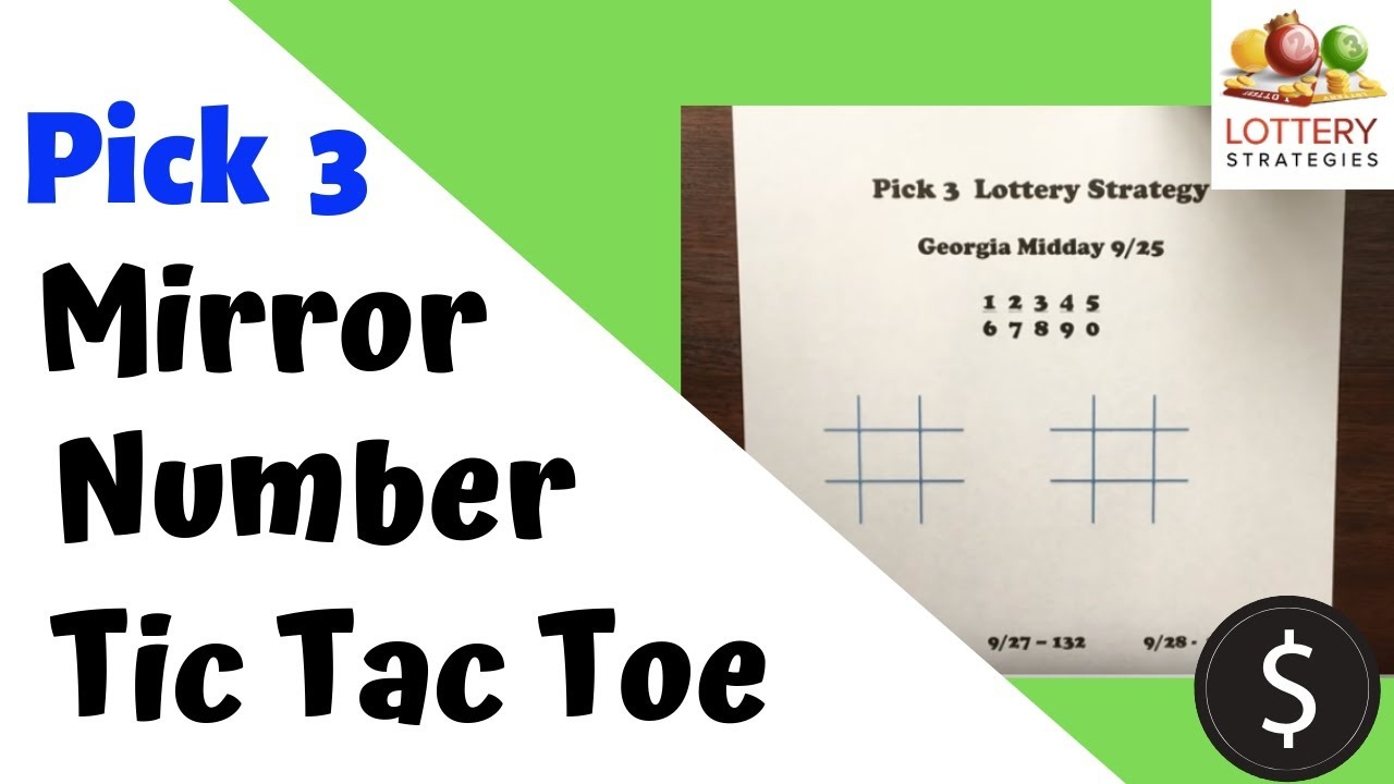 Pick 3 Lottery Strategy 2018 - Mirror Number Lotto Strategy!!! - Youtube - Free Printable Mirrored Numbers