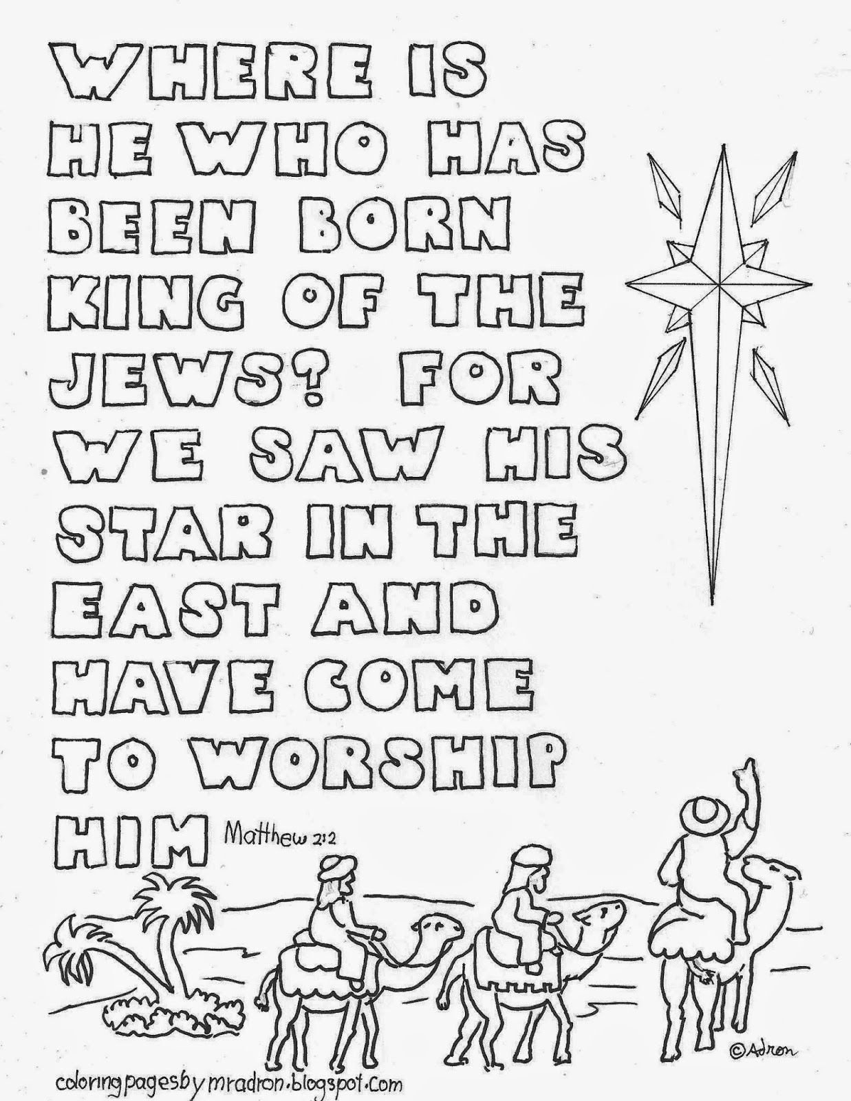 Pinadron Dozat On Coloring Pages For Kid | Christmas Bible - Free Printable Bible Christmas Coloring Pages