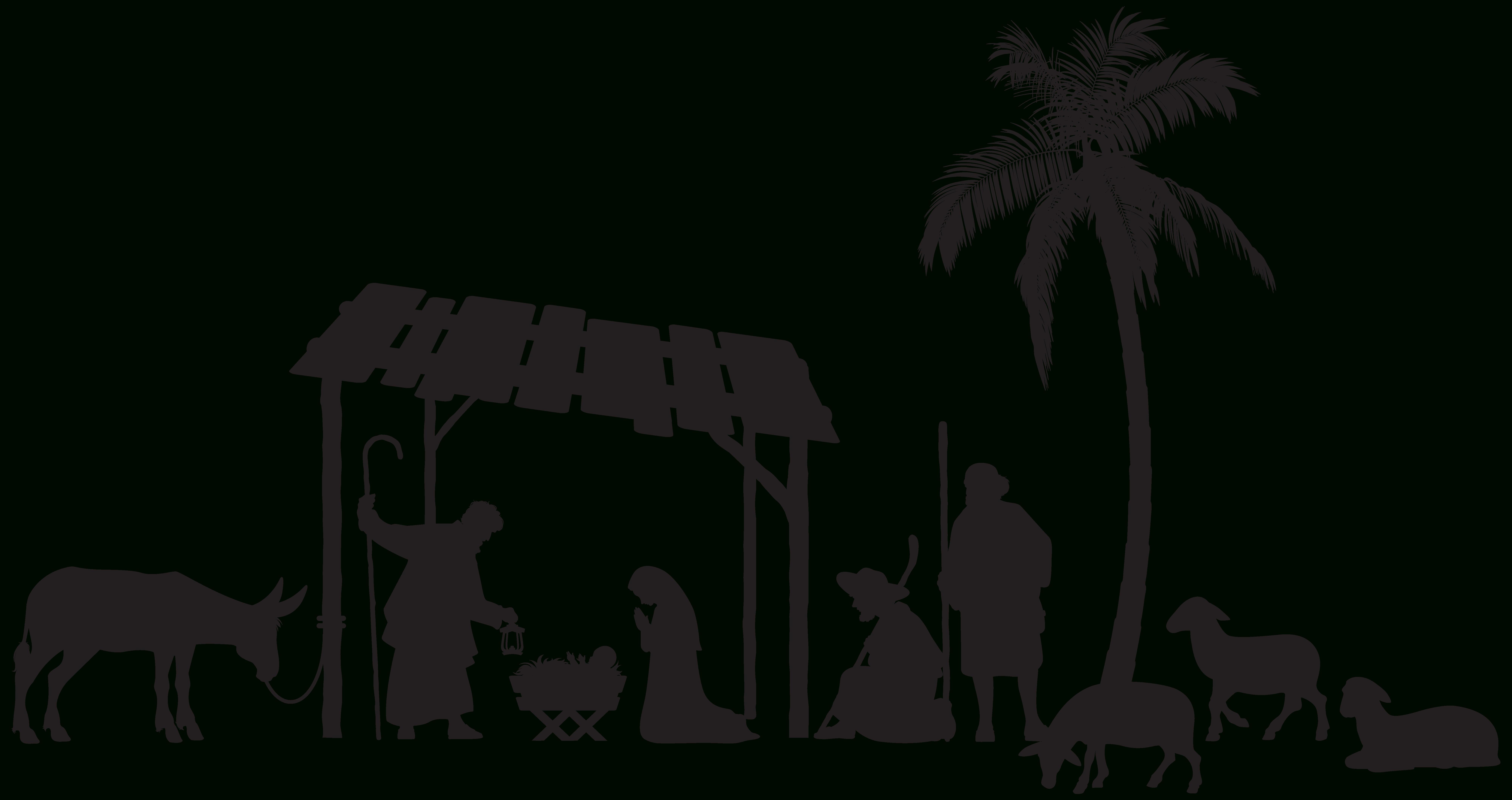 Pinalonso Cornejo On Figuras De Madera   Nativity Scene Pictures - Free Printable Nativity Silhouette