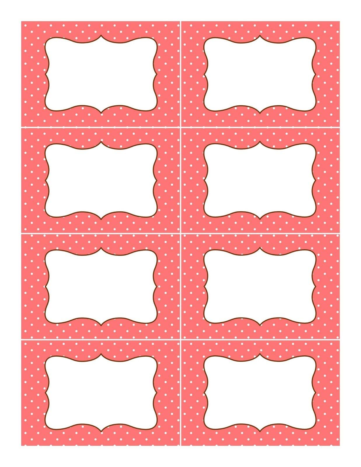 Pinbrenda Recinos On Labels | Printable Labels, Candy Buffet - Free Printable Candy Buffet Labels Templates
