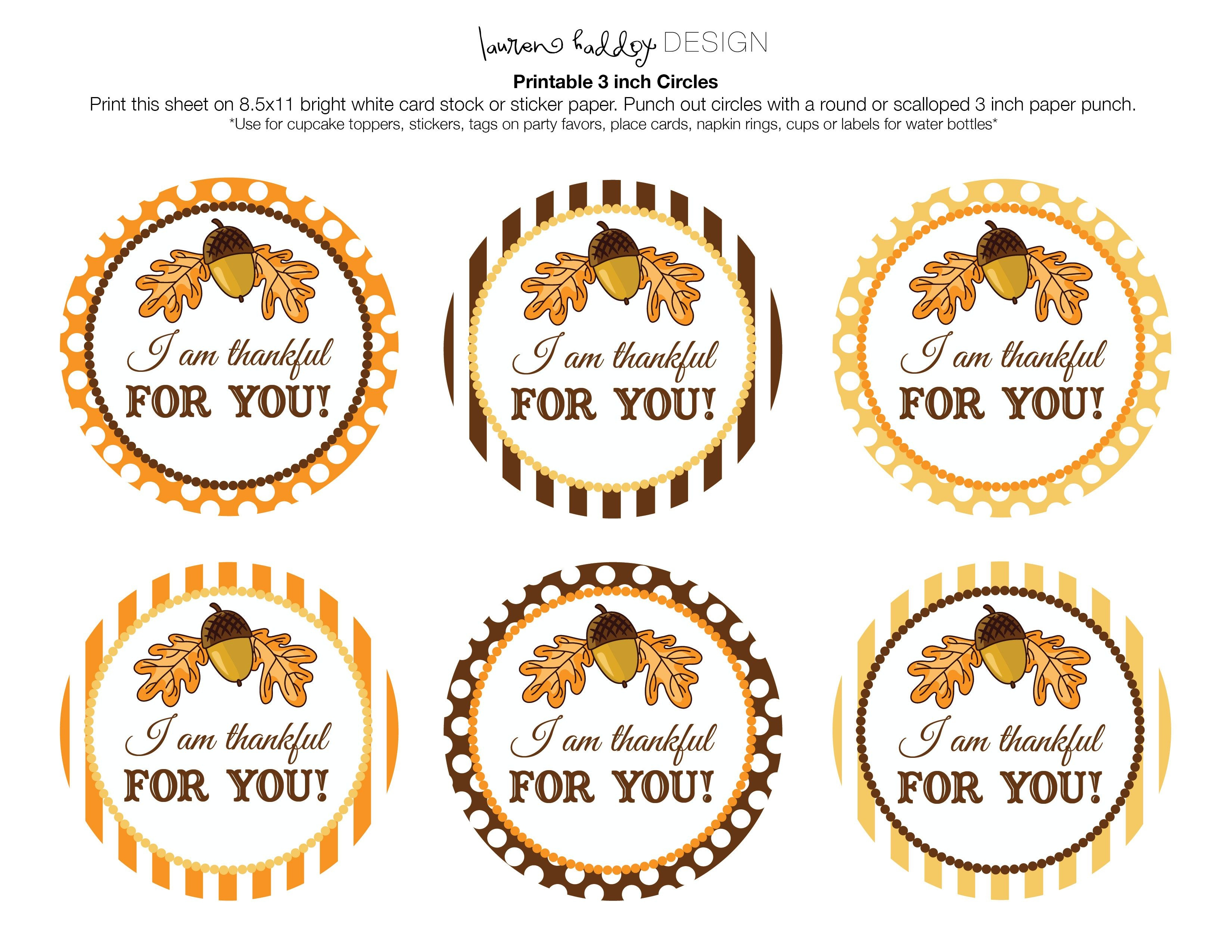 Pincathy Carr On Ho Ho Ho | Thanksgiving Gifts, Thanksgiving - Thankful For You Free Printable Tags