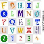 Pinchristine Ashley On Printable | Alphabet Magnets, Printable   Free Printable Alphabet Letters
