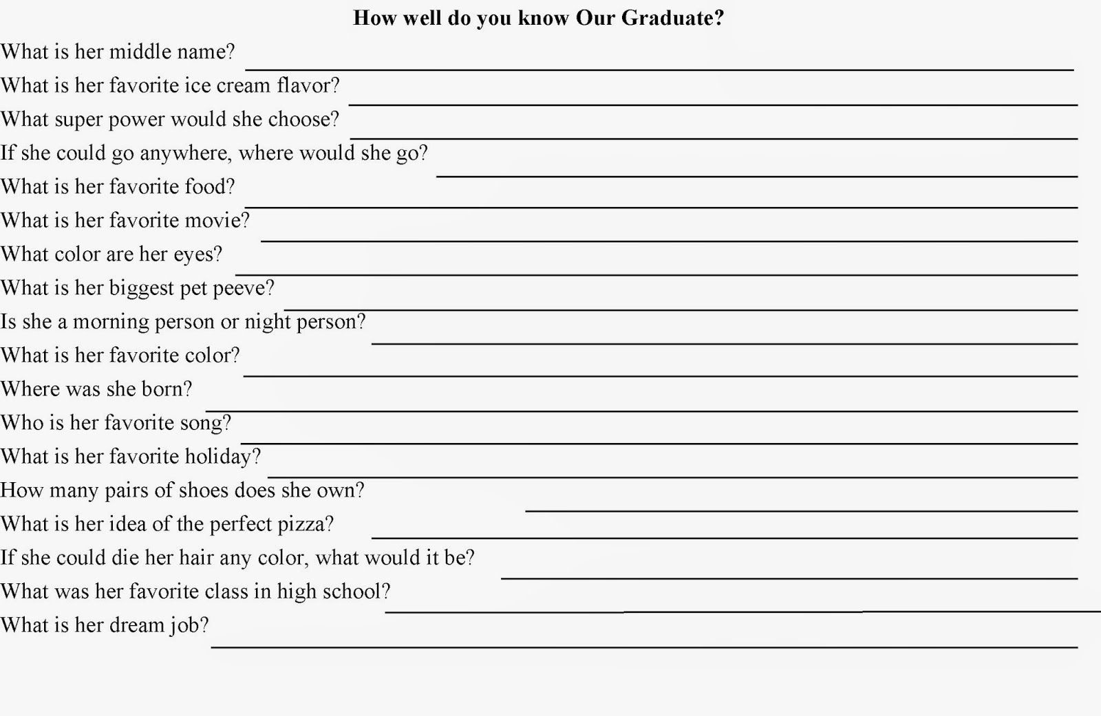 Pinjoy Bianchi Brown On P's Sweet 16   Birthday Games - Free Printable Graduation Party Games