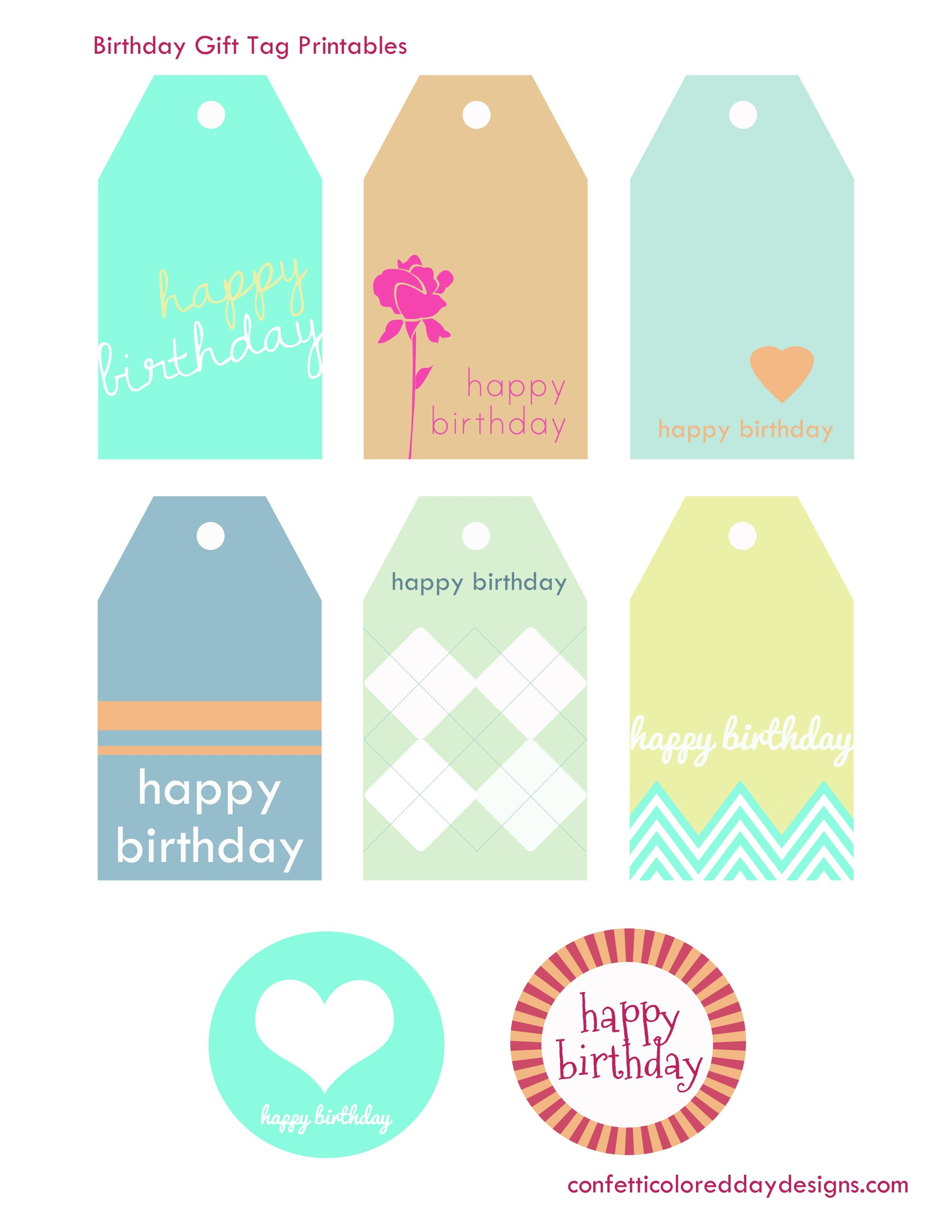 Pinmaheen Khan On Cards, Gifts & Gift Wraps | Birthday Tags - Free Printable Birthday Tags