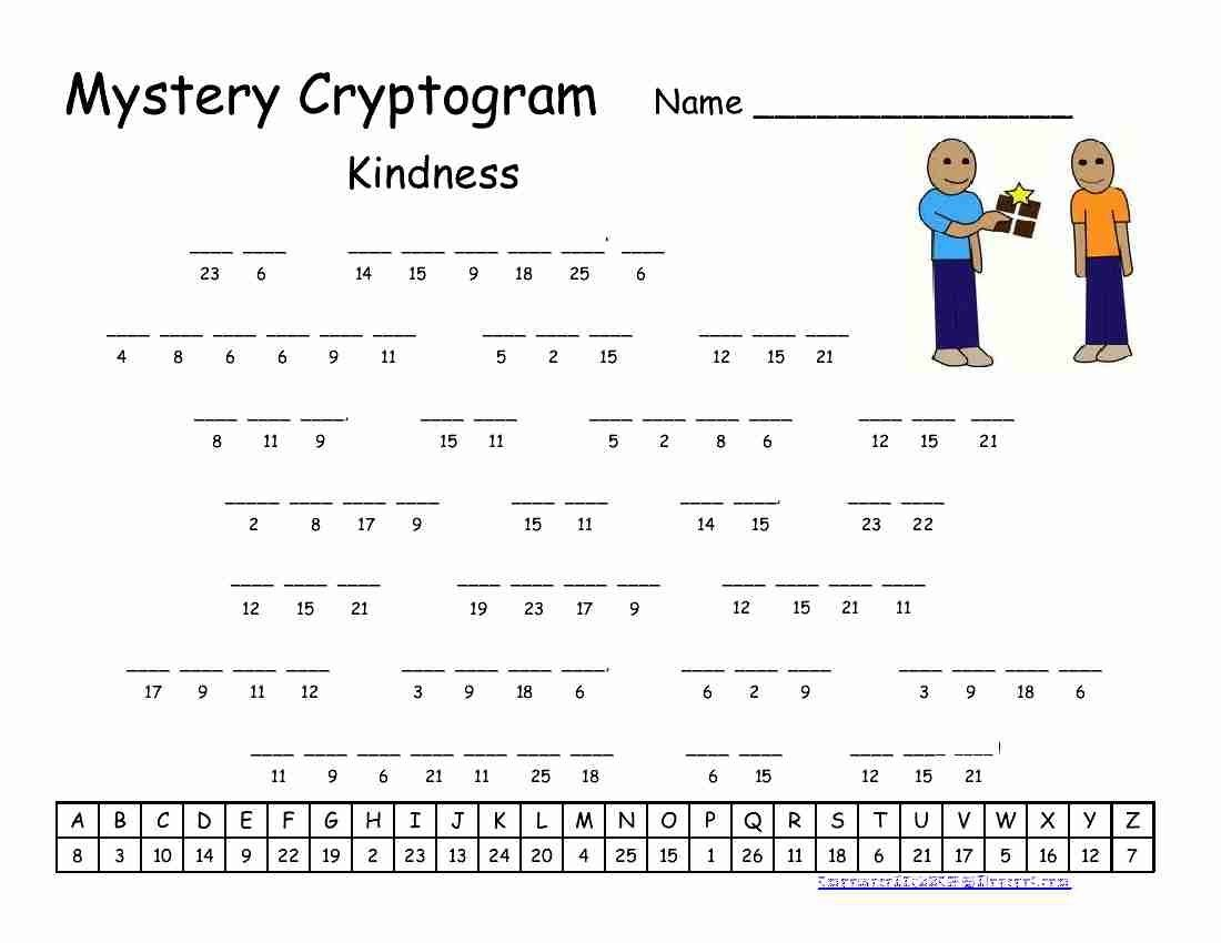 Pinrawa'a El-Hussein On Cryptogram | Word Puzzles Printable - Free Printable Cryptograms