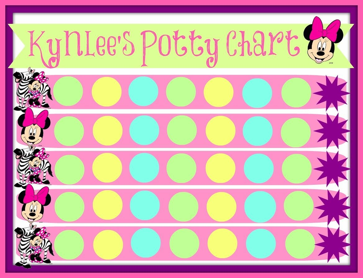 Pinstephanie French On Maddy Fun!   Printable Potty Chart, Potty - Free Printable Minnie Mouse Potty Training Chart
