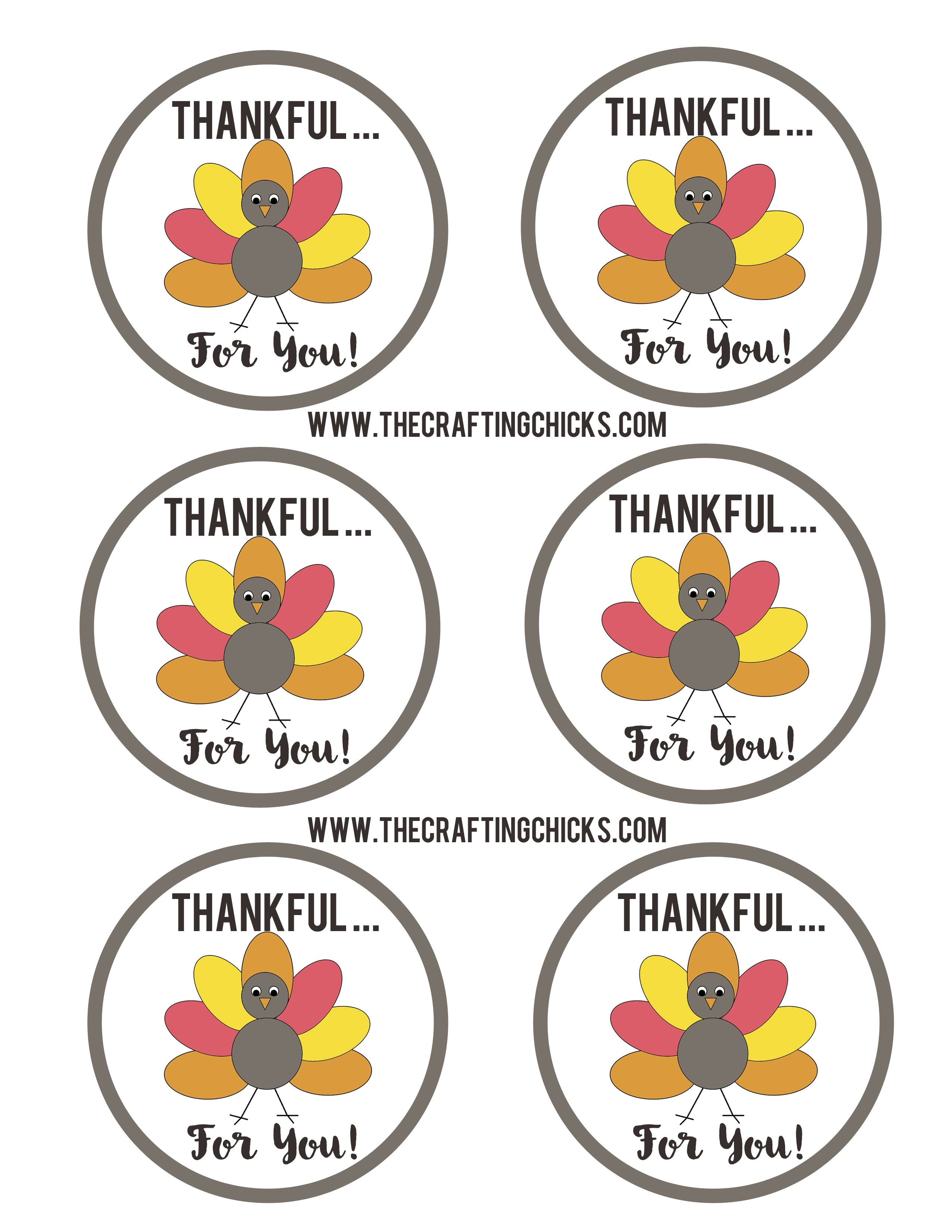 Pinstephanie Pirkle On School | Free Thanksgiving Printables - Thankful For You Free Printable Tags