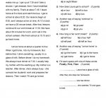 Placement Test (A1 A2) Worksheet   Free Esl Printable Worksheets   Free Esl Assessment Test Printable