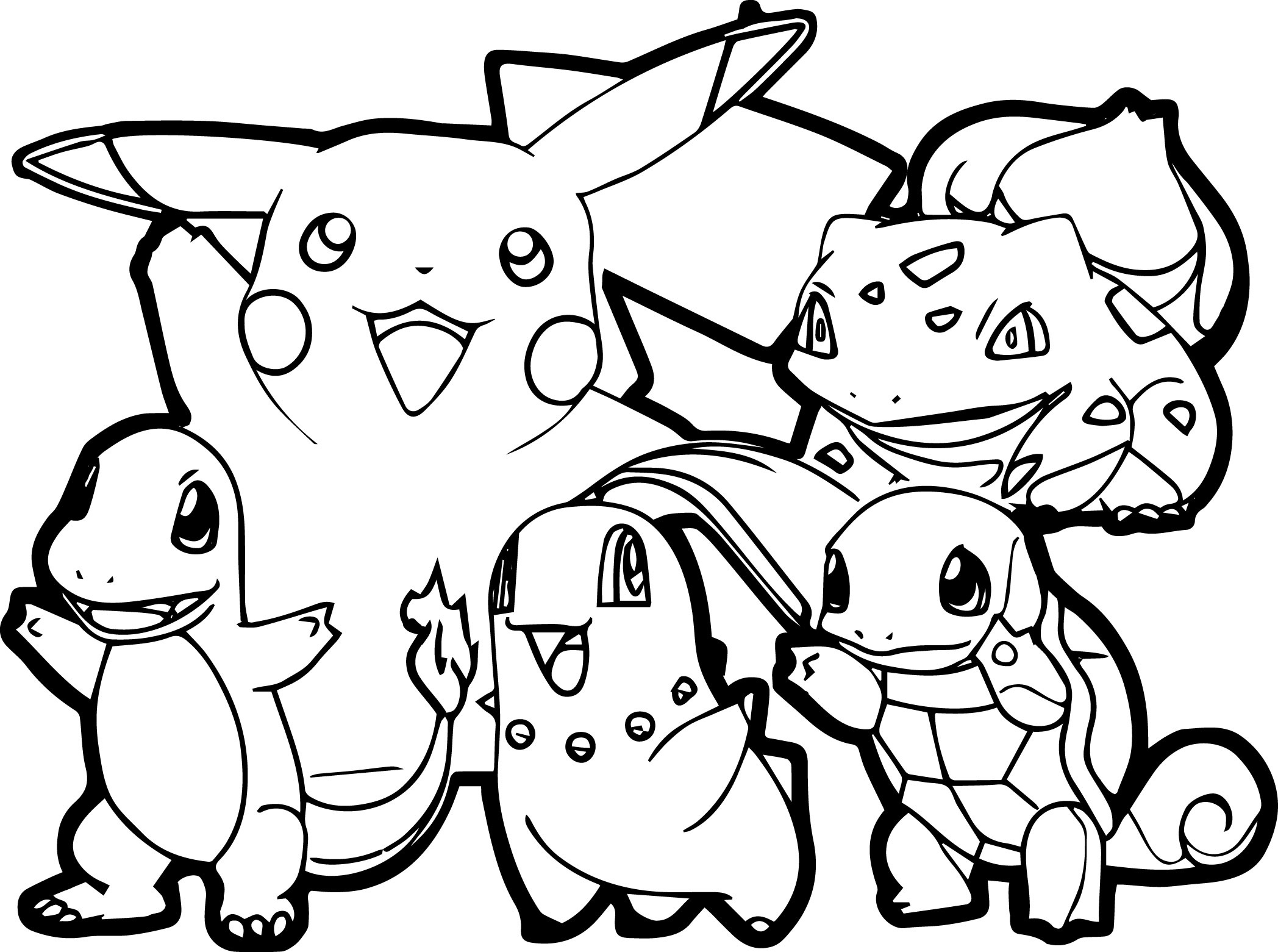 Pokemon For Children - All Pokemon Coloring Pages Kids Coloring Pages - Free Printable Pokemon Coloring Pages