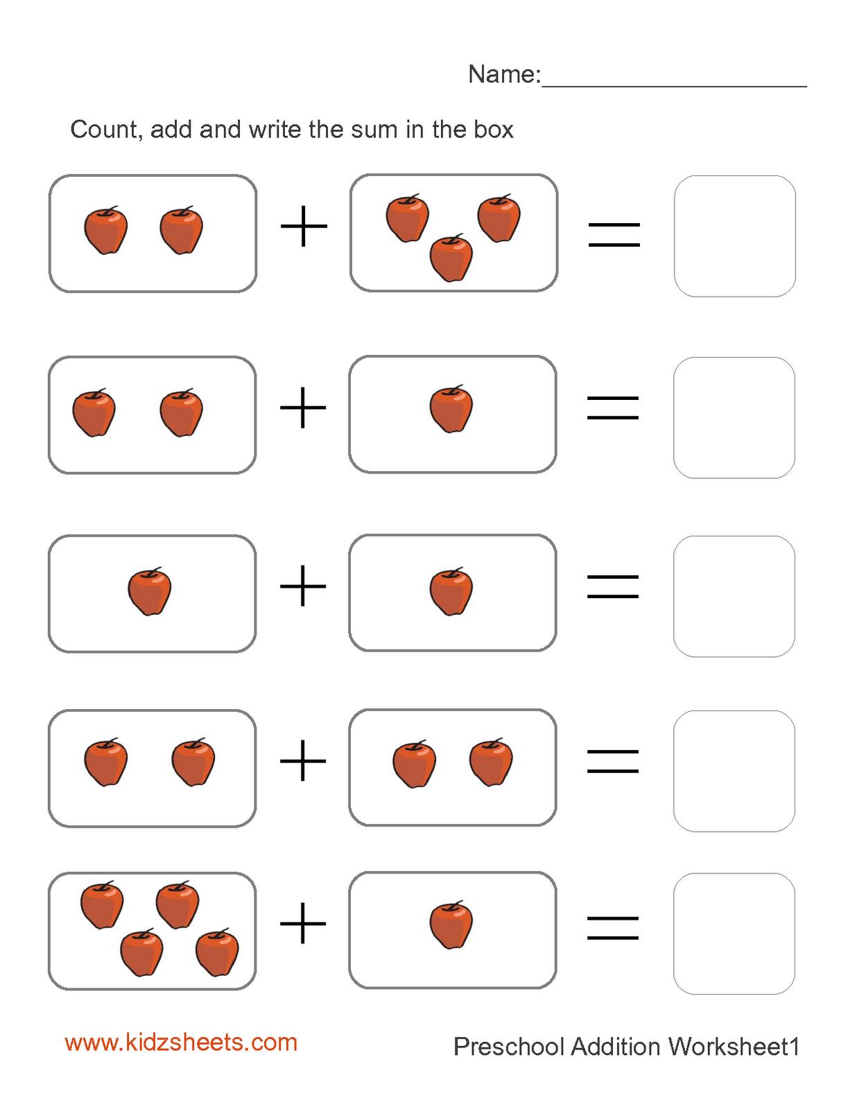 Preschool Printables   Printable Preschool Worksheets,free - Free Printable Pre K Activities