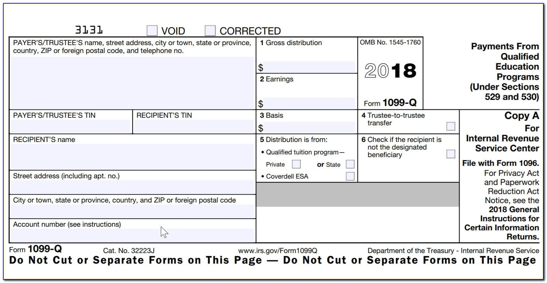 Printable 1099 Misc Form 2017 Irs - Form : Resume Examples #p1Lr0Vvm4L - Free Printable 1099 Form 2016