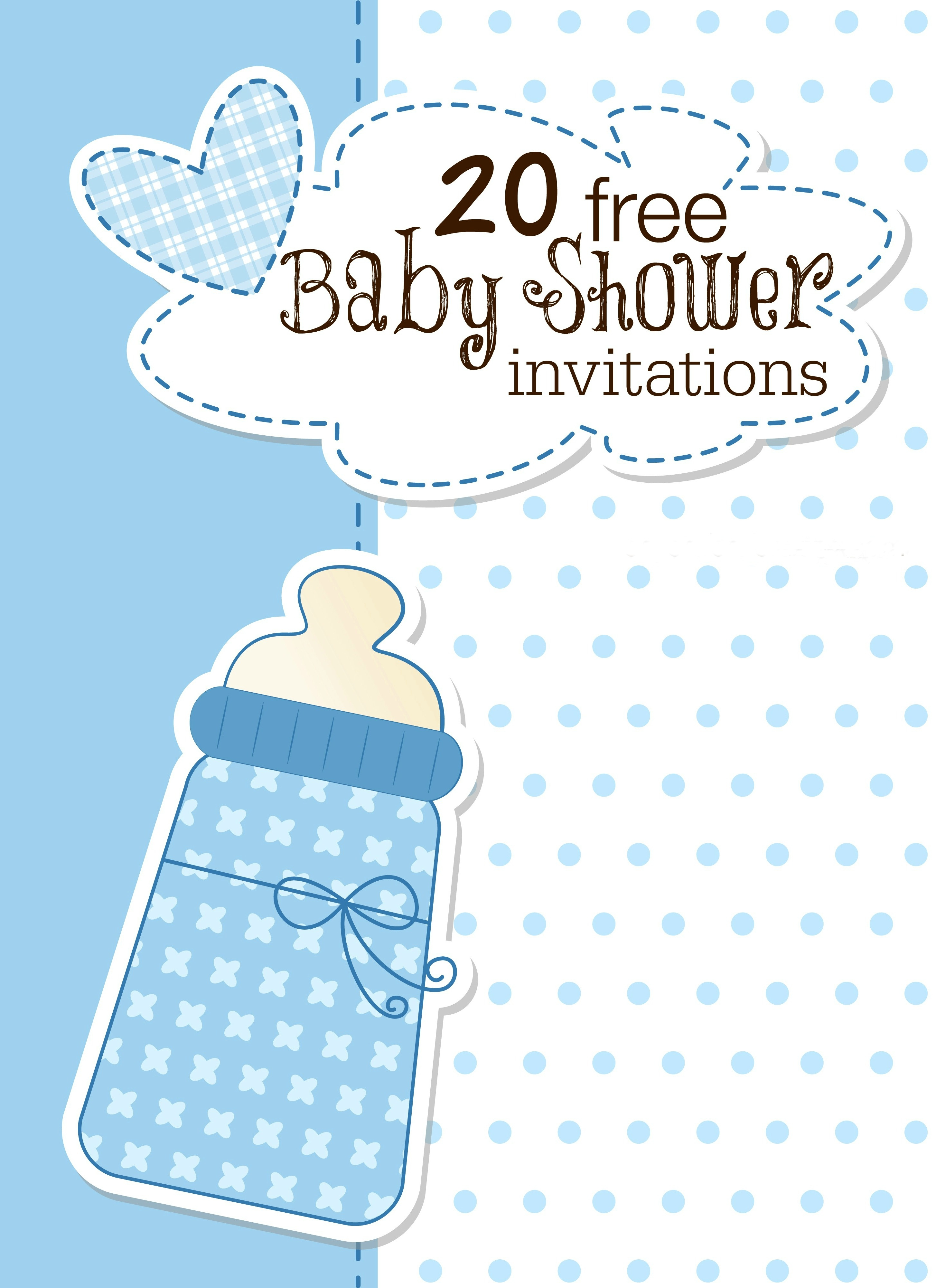 Printable Baby Shower Invitations - Free Printable Baby Registry Cards