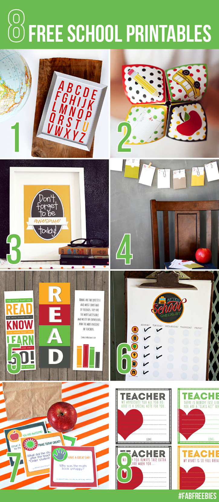Printable Back To School Bookmarks | For The Boys | School Checklist - Free Printable Back To School Bookmarks