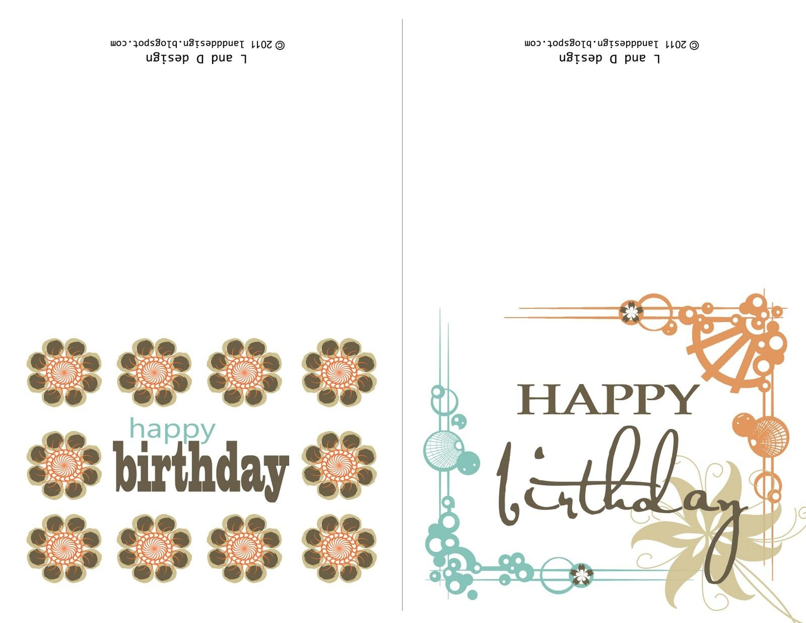 Printable Birthday Cards For Mom | Happy Birthday To You | Free - Free Printable Birthday Cards For Mom