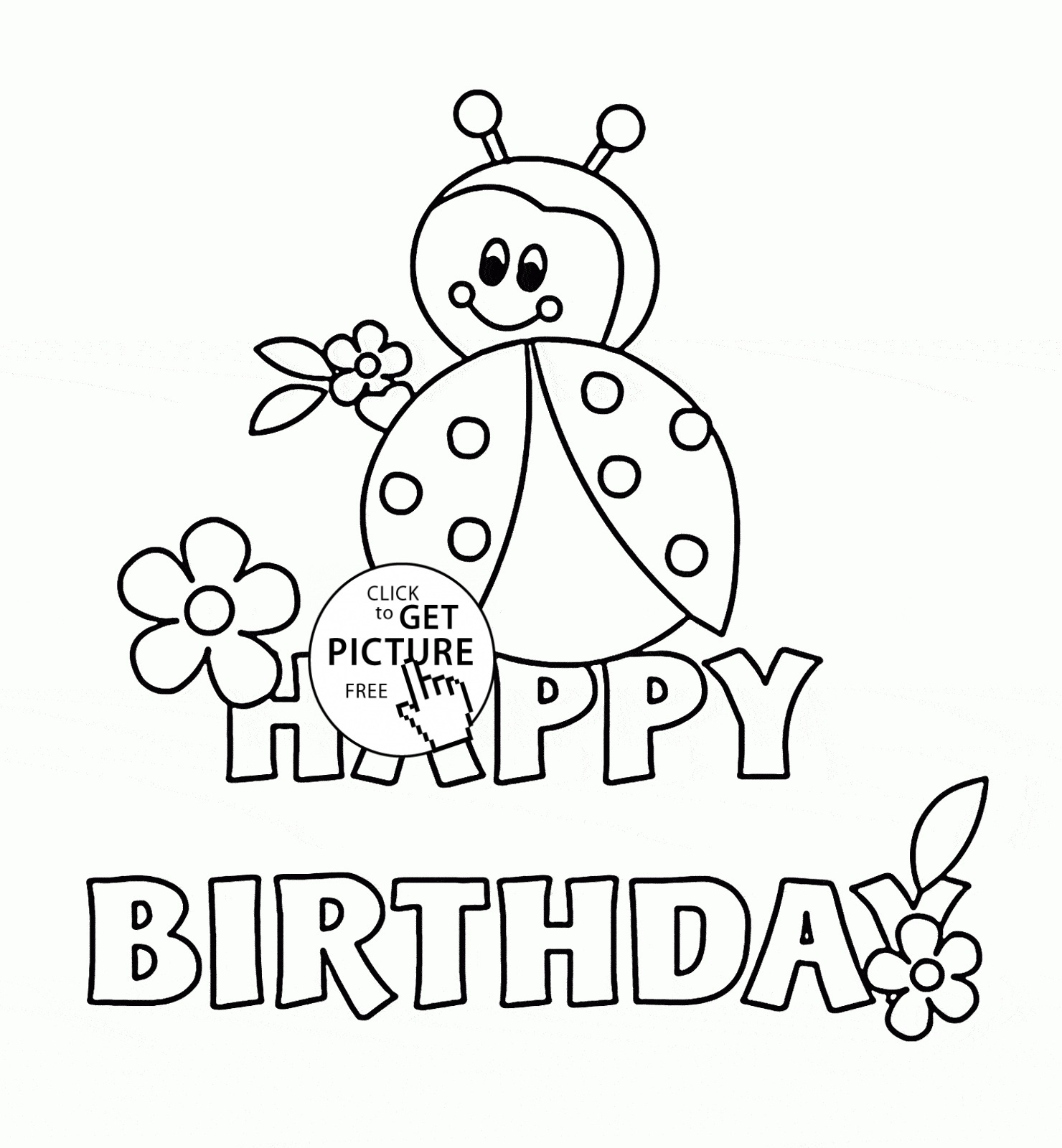 Printable Birthday Cards To Color For Friends | Chart And Printable - Free Printable Birthday Cards To Color
