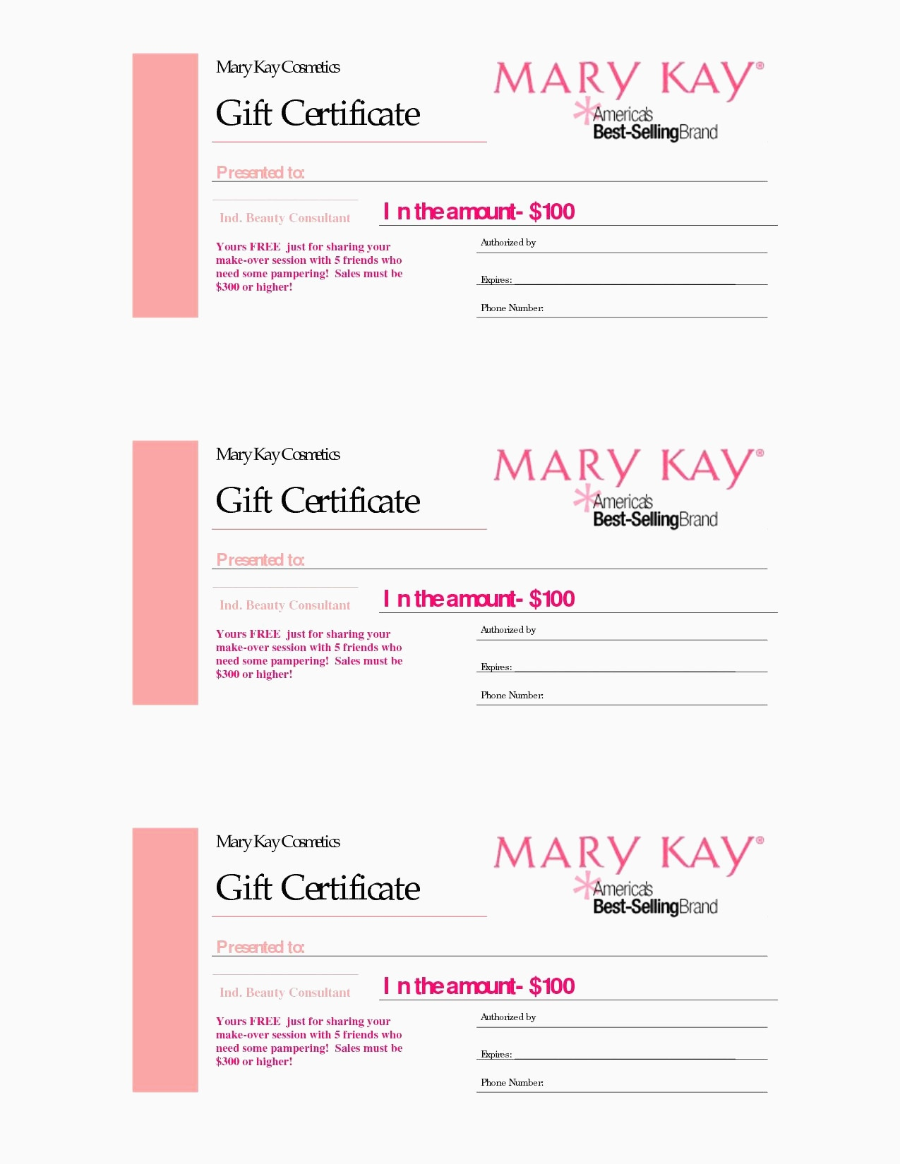 Printable Blank Gift Certificate Template Free Massage Awesome - Free Printable Massage Gift Certificate Templates