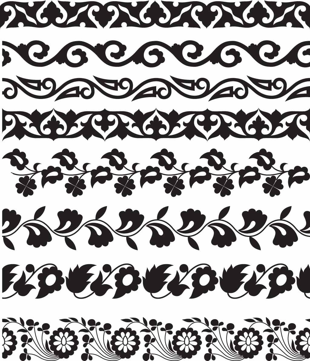 Printable Borders For Display Boards - Google Search | Stencil That - Free Printable Lace Stencil