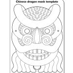 Printable Chinese New Year Masks | Chinese Dragon Mask | Shahida's   Dragon Mask Printable Free