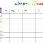 Printable Chore Charts Free | Acme Of Skill   Chore Chart For Adults Printable Free