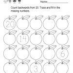 Printable Counting Worksheet   Free Kindergarten Math Worksheet For Kids   Free Printable Counting Worksheets
