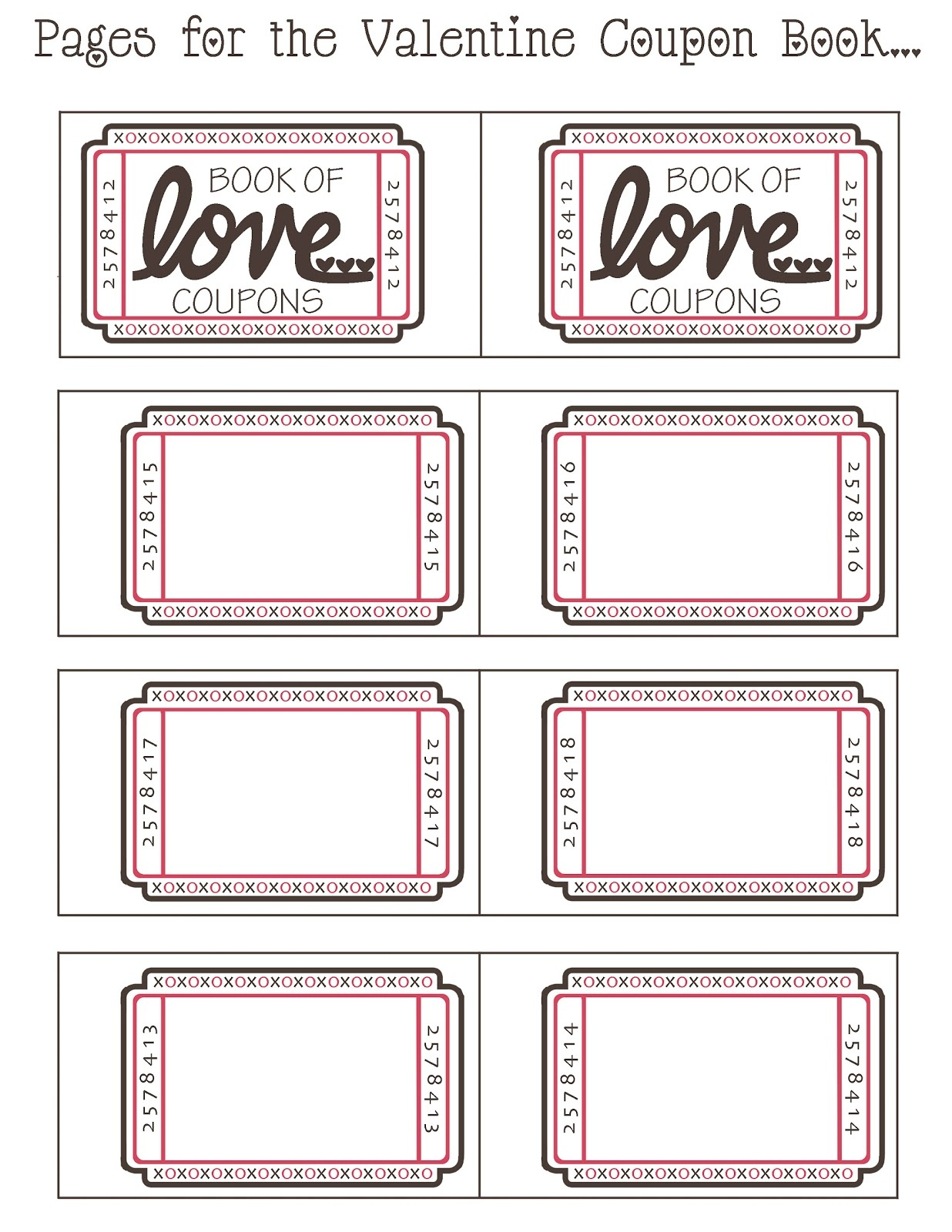 Printable Coupon Book For Boyfriend – Moms In Hawaii - Free Printable Coupon Book For Boyfriend