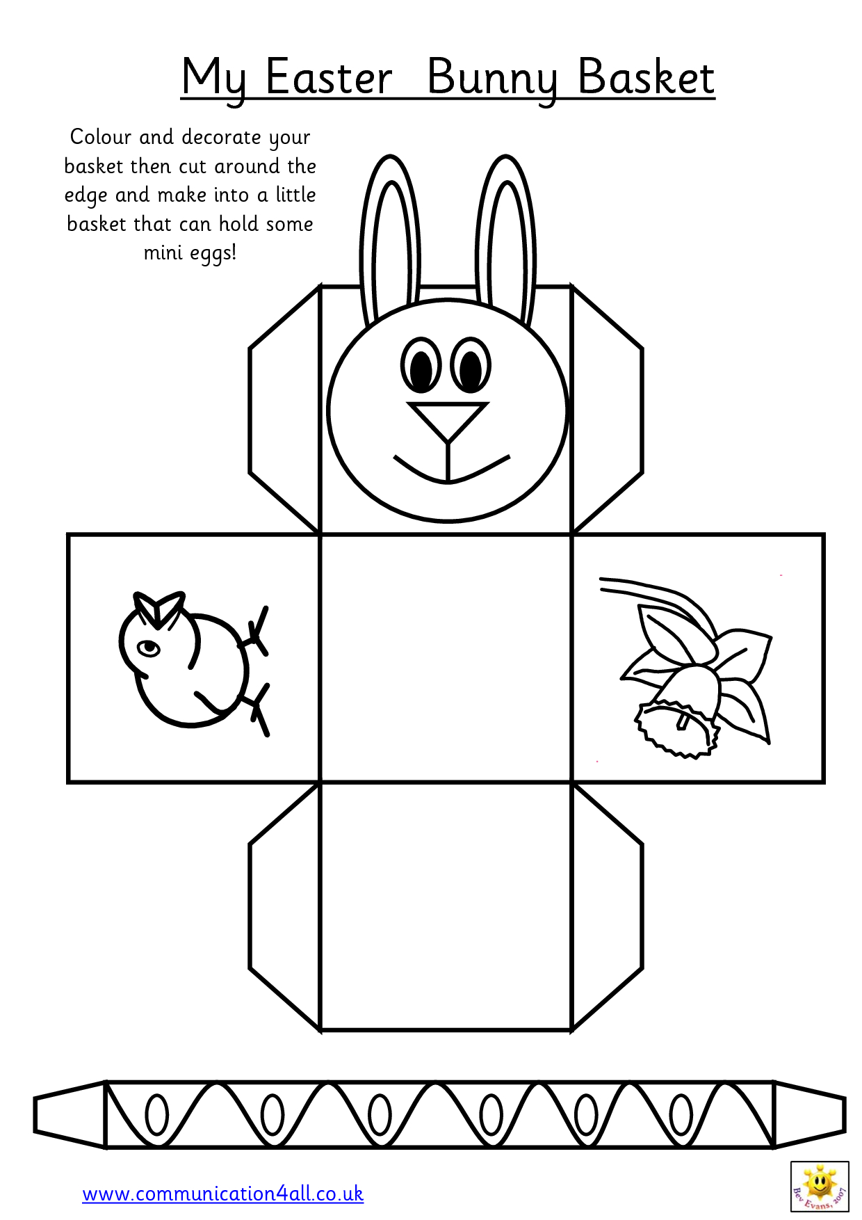 Printable Easter Egg Basket Templates – Hd Easter Images - Free Printable Easter Egg Basket Templates