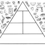 Printable Food Pyramid Activities | Food Pyramid Coloring Pages   Free Printable Food Pyramid