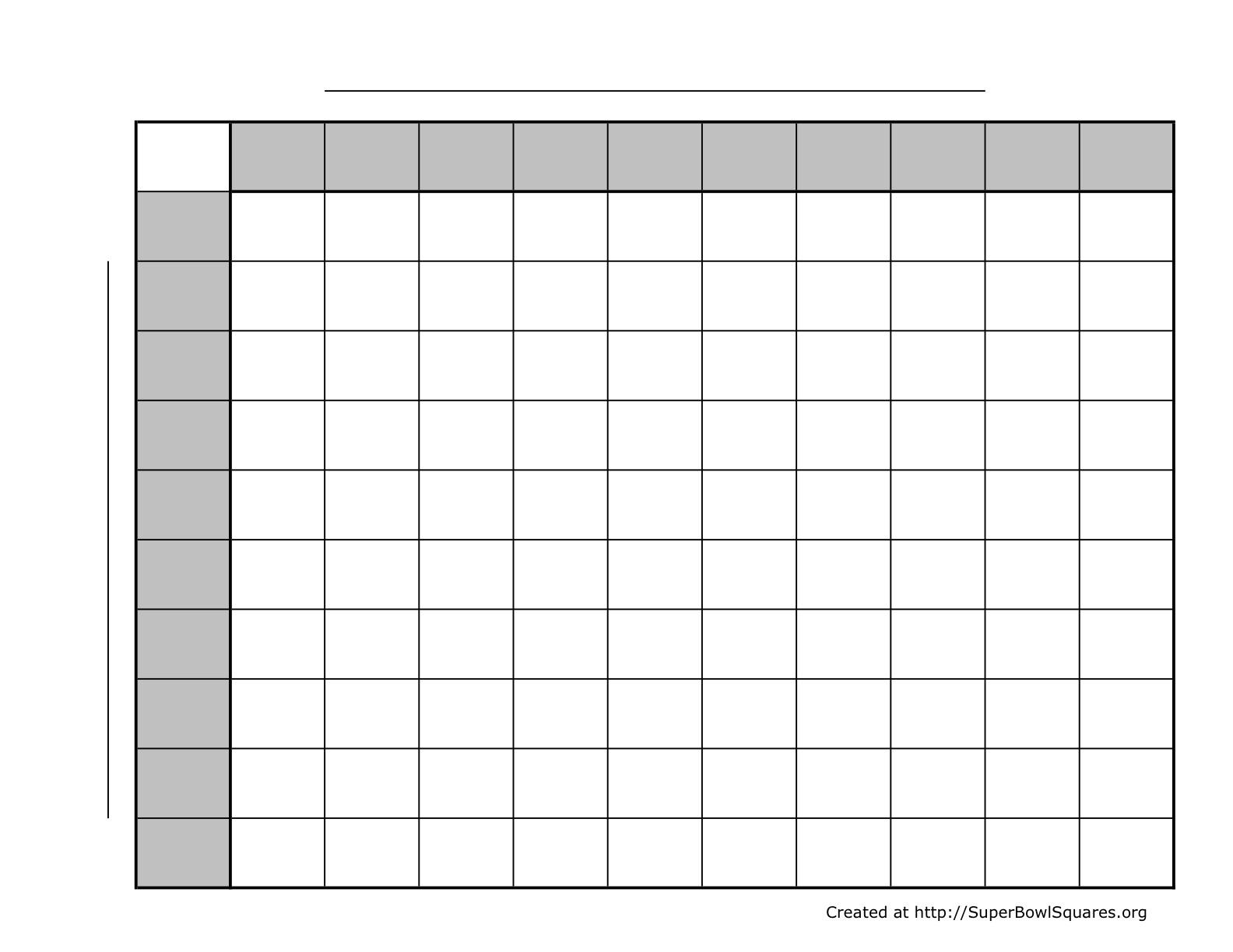 Printable Football Squares Sheets - Free Printable Football Play Sheets