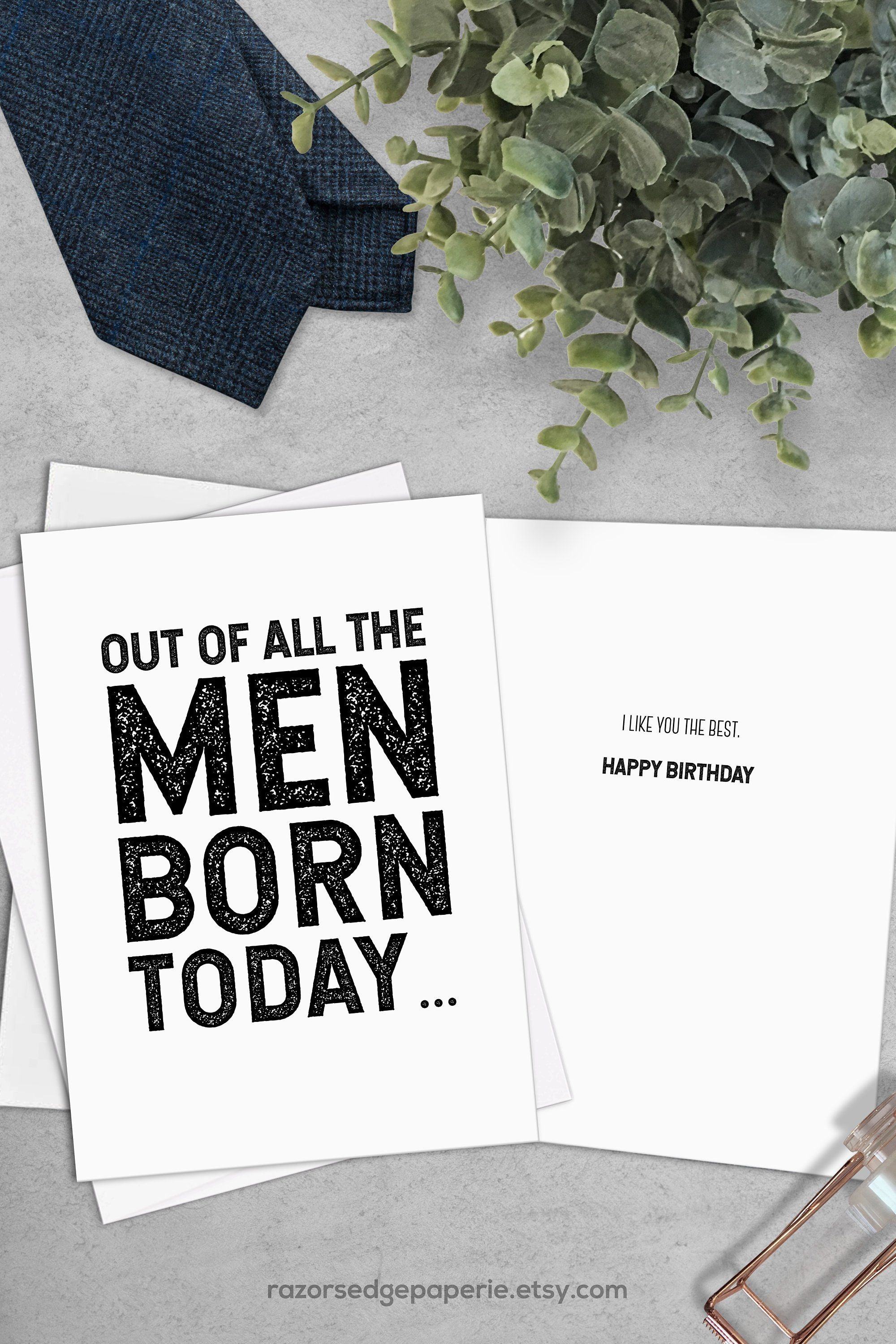 Printable Funny Birthday Card Instant Download Birthday Cards - Free Printable 50Th Birthday Cards Funny