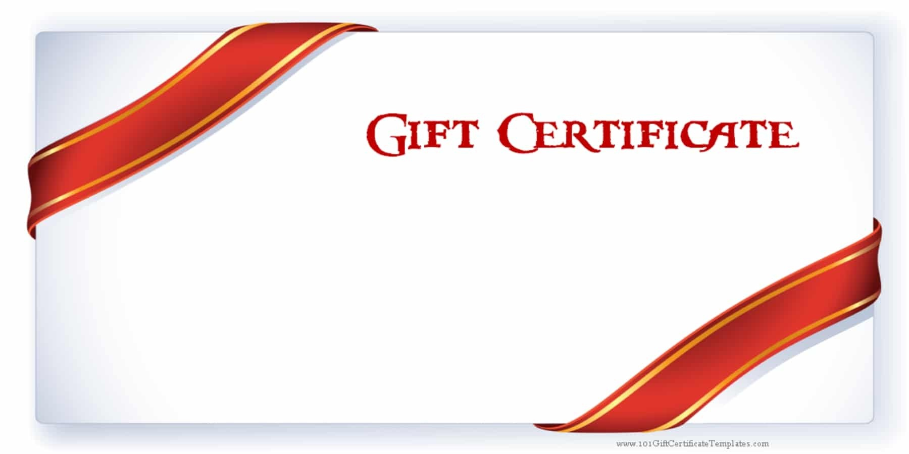 Printable Gift Certificate Templates - Free Printable Gift Coupons