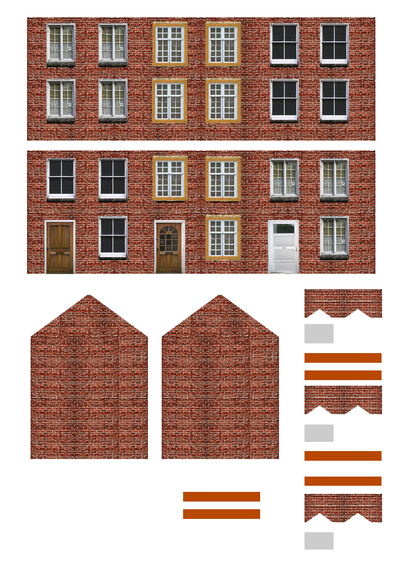 Printable N Gauge Buildings 8 Free Printable Ho Scale Buildings - Free Printable Model Railway Buildings