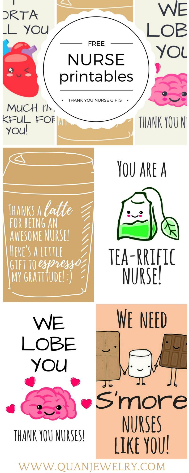 Printable Nurses Week Games - Botwifi - Nurses Week 2016 Cards Free Printable