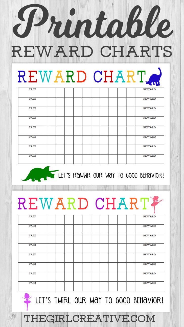 Charts Free Printable