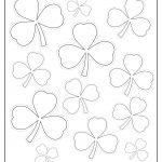 Printable Shamrock Templates | Printable Shape Templates   Shamrock Template Free Printable