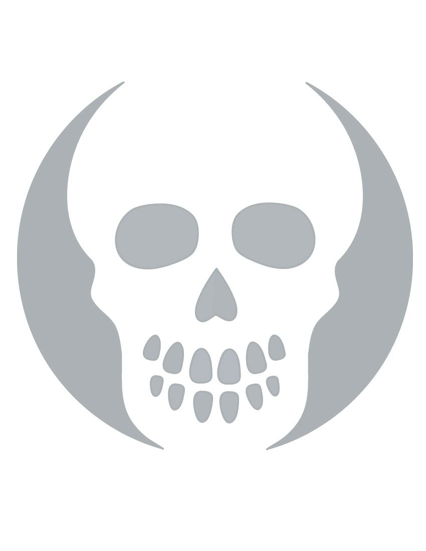 Printable Skull Stencil Coolest Free Printables | Halloween | Skull - Pumpkin Cutouts Printable Free