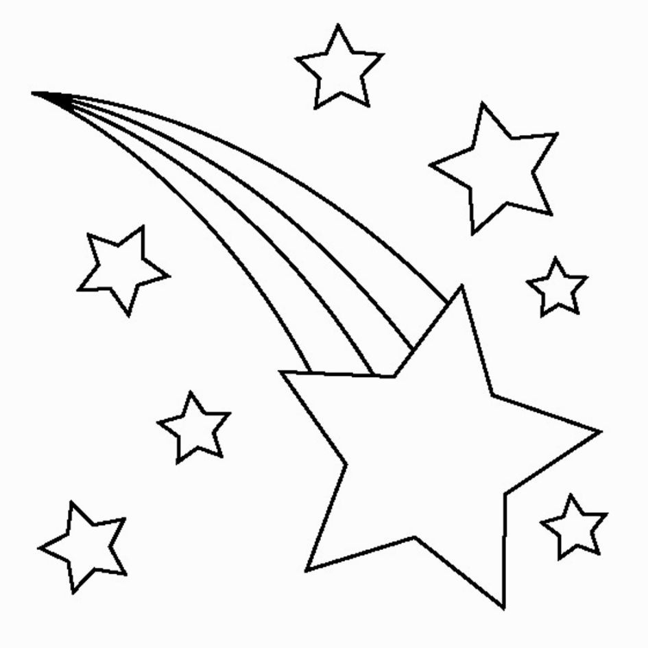 Printable Star Coloring Pages | Coloring Pages | Star Coloring Pages - Free Printable Stars