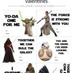 Printable Star Wars Valentine's Day Cards | Star Wars | Starwars – Star Wars Printable Cards Free