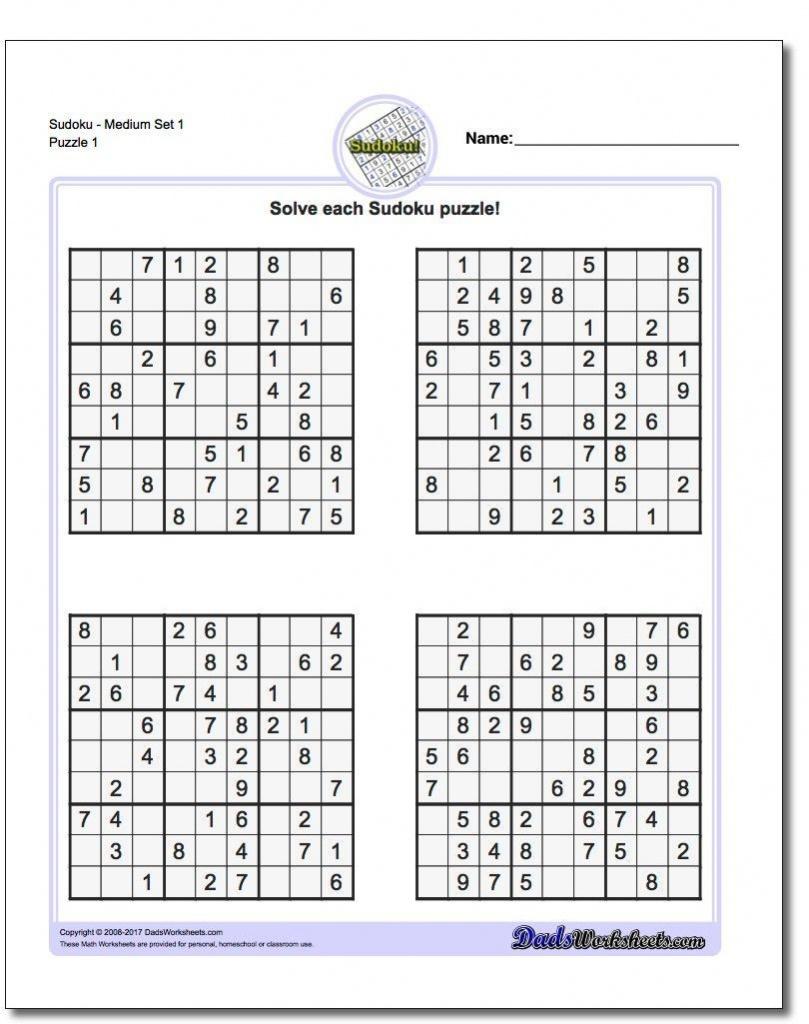 Printable Sudoku Free - Free Printable Super Challenger Sudoku