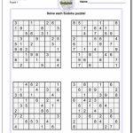 Printable Sudoku Free   Part 50   Free Printable Sudoku Puzzles