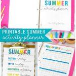 Printable Summer Planner + Free Summer Calendar   Unoriginal Mom   Free Printable Summer Pictures