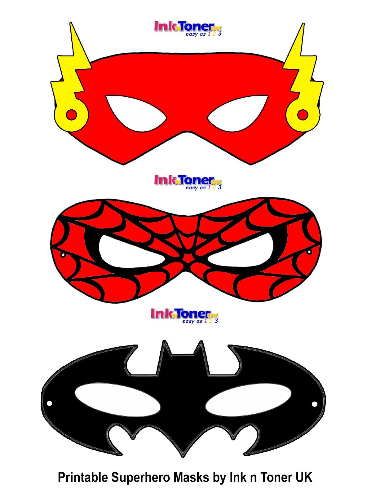 Printable Superhero Masks For Super Hero Day   Inkntoneruk Blog - Superman Mask Printable Free