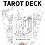 Printable Tarot Deck From | Learning Tarot | Free Tarot Cards, Tarot   Free Printable Tarot Cards
