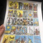 Printable Tarot Deck ~ | The Witches' Circle Amino   Free Printable Tarot Cards